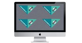 imac, additional design image, legal corners printing